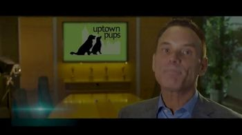 Uptown Pups TV Spot, 'The Most Interesting Pup in Town' Featuring Kevin Harrington - Thumbnail 1