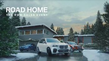 BMW Road Home Sales Event TV Spot, 'Holidays Are Here' [T1]