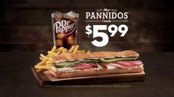 Jack in the Box $5.99 Pannido Combo TV Spot, 'Toasted Ciabatta' - Thumbnail 2