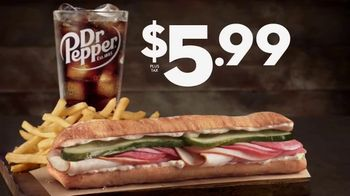 Jack in the Box $5.99 Pannido Combo TV Spot, 'Toasted Ciabatta' - Thumbnail 7