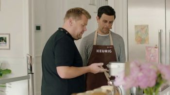 Keurig K-Café TV Spot, 'Value' Featuring James Corden