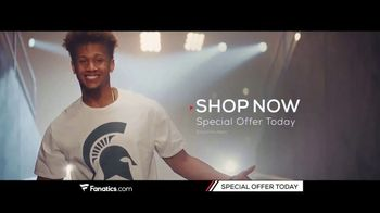 Fanatics.com TV Spot, 'Support Your Favorite College' Song by Greta Van Fleet - Thumbnail 8