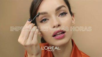 L'Oreal Paris Unbelieva-Brow Longwear Brow Gel TV Spot, 'Impecables' [Spanish]
