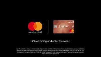 Capital One Savor MasterCard TV Spot, 'Moving Along' - Thumbnail 9