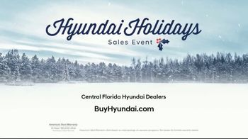 Hyundai Holidays Sales Event TV Spot, 'Just Around the Corner' [T2] - Thumbnail 7