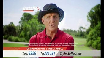 Instaflex Advanced TV Spot, 'Firsthand Joint Discomfort' Featuring Greg Norman