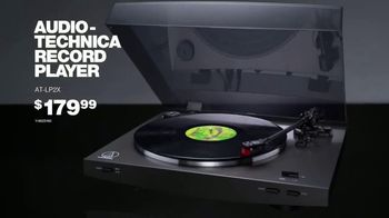 Guitar Center TV Spot, 'Audio-Technica Record Player' Song by The Internet