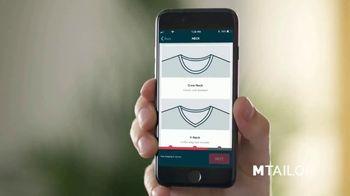 MTailor Custom Shirt TV Spot, 'The Perfect Fit' - Thumbnail 6