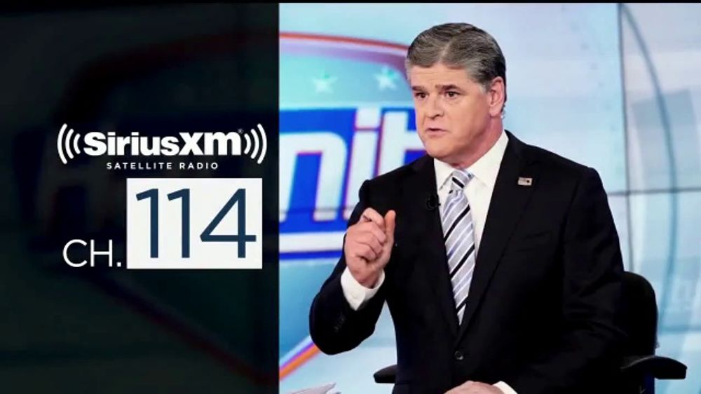 SiriusXM Satellite Radio TV Commercial, 'FOX News'
