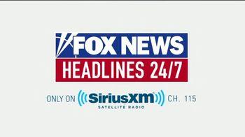 SiriusXM Satellite Radio TV Spot, 'FOX News' - Thumbnail 10