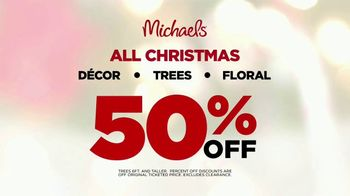 Michaels TV Spot, 'Holidays: 50 Percent Off' Song by Charles Wright & The Watts - Thumbnail 10