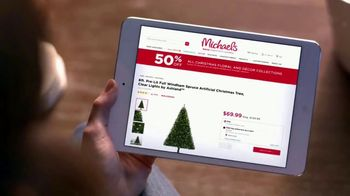 Michaels TV Spot, 'Holidays: 50 Percent Off' Song by Charles Wright & The Watts - Thumbnail 2