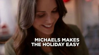 Michaels TV Spot, 'Holidays: 50 Percent Off' Song by Charles Wright & The Watts - Thumbnail 3