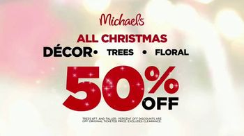 Michaels TV Spot, 'Holidays: 50 Percent Off' Song by Charles Wright & The Watts - Thumbnail 9