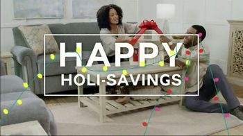 Ashley HomeStore Home for the Holidays TV Spot, 'Spread Some Cheer: Aramore Sofa' - Thumbnail 3