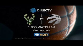 DIRECTV 4K HDR TV Spot, 'NBA in 4K HDR' - Thumbnail 8