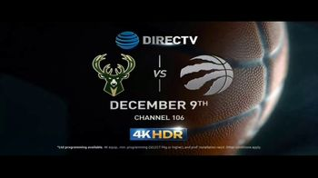 DIRECTV 4K HDR TV Spot, 'NBA in 4K HDR' - Thumbnail 7