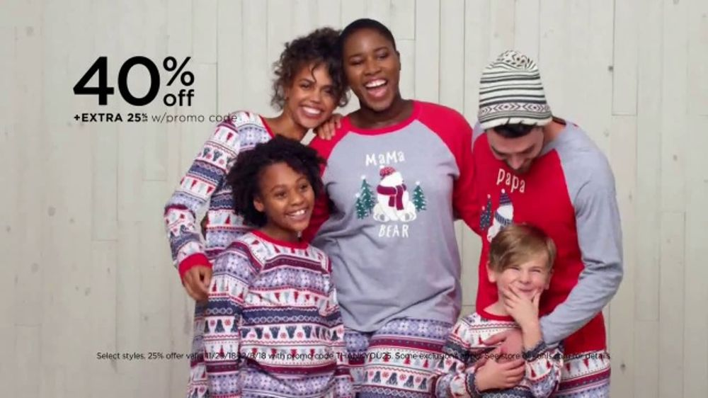 951ac1101c5bd Kohl's Friends & Family Sale TV Commercial, 'Family Jammies, Keurig and  Home Decor'