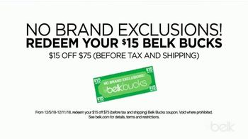 Belk Christmas Sale TV Spot, 'Bonus Buys, Toys and Belk Bucks' - Thumbnail 6