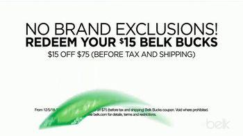 Belk Christmas Sale TV Spot, 'Bonus Buys, Toys and Belk Bucks' - Thumbnail 7