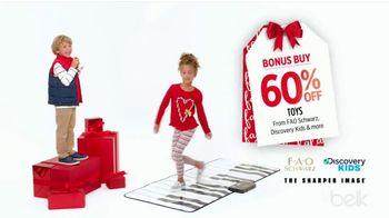 Belk Christmas Sale TV Spot, 'Bonus Buys, Toys and Belk Bucks'