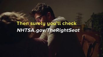 NHTSA TV Spot, 'The Right Seat: If You Love Them Enough: Math' - Thumbnail 9