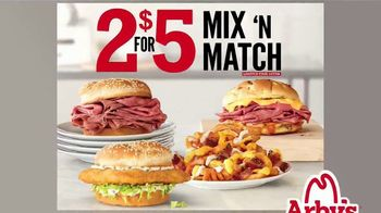 Arby's 2 for $5 Mix 'N Match TV Spot, 'Try Today' - Thumbnail 1
