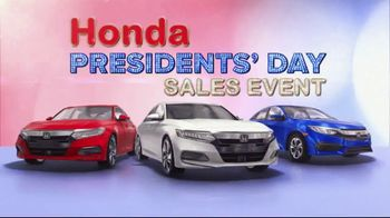 Honda Presidents Day Sales Event TV Spot, 'Massive Savings: Sedans' [T2] - Thumbnail 9
