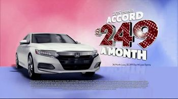 Honda Presidents Day Sales Event TV Spot, 'Massive Savings: Sedans' [T2] - Thumbnail 2