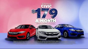 Honda Presidents Day Sales Event TV Spot, 'Massive Savings: Sedans' [T2] - Thumbnail 5