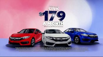 Honda Presidents Day Sales Event TV Spot, 'Massive Savings: Sedans' [T2] - Thumbnail 6