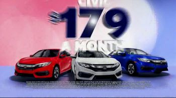 Honda Presidents Day Sales Event TV Spot, 'Massive Savings: Sedans' [T2] - Thumbnail 8
