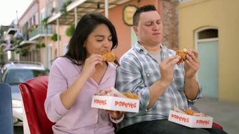 Popeyes 2 Can Dine for $10 TV Spot, 'Make a Date'