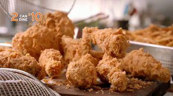 Popeyes 2 Can Dine for $10 TV Spot, 'Make a Date' - Thumbnail 6