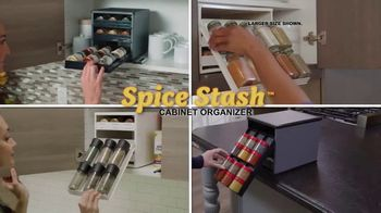 Sharper Image Spice Stash TV Spot, 'Bottles Brought Right to You' - Thumbnail 4