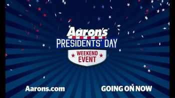 Aaron's Presidents Day Weekend Event TV Spot, 'Your Right' - Thumbnail 10