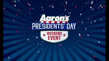 Aaron's Presidents Day Weekend Event TV Spot, 'Your Right'