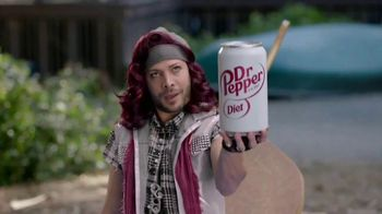 Diet Dr Pepper TV Spot, 'The Sweet Outdoors' Featuring Justin Guarini & Steve Talley - Thumbnail 5