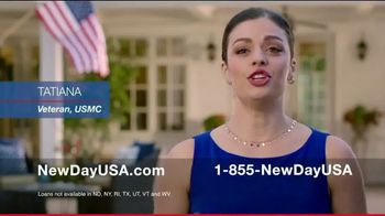 NewDay USA VA Cash Out Home Loan TV Spot, 'Veteran Home Owners' - Thumbnail 1