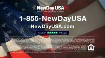 NewDay USA VA Cash Out Home Loan TV Spot, 'Veteran Home Owners' - Thumbnail 9
