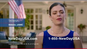 NewDay USA VA Cash Out Home Loan TV Spot, 'Veteran Home Owners' - Thumbnail 2