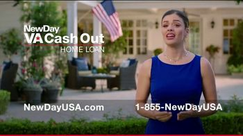 NewDay USA VA Cash Out Home Loan TV Spot, 'Veteran Home Owners' - Thumbnail 4