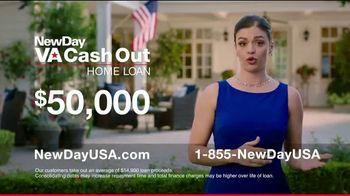 NewDay USA VA Cash Out Home Loan TV Spot, 'Veteran Home Owners' - Thumbnail 5