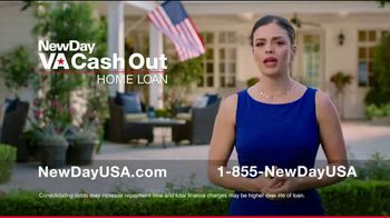 NewDay USA VA Cash Out Home Loan TV Spot, 'Veteran Home Owners' - Thumbnail 6