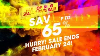 Six Flags Park Opening Season Pass Sale TV Spot, 'Open on Weekends' - Thumbnail 10