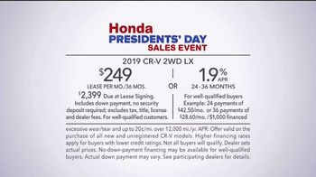 Honda Presidents Day Sales Event TV Spot, 'On the Lookout' [T2] - Thumbnail 9