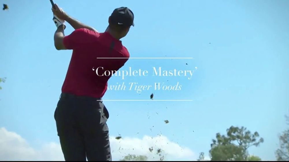 Rolex TV Commercial, 'Complete Mastery' Featuring Tiger Woods