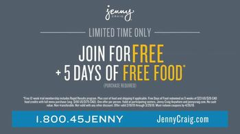Jenny Craig Rapid Results TV Spot, 'Brittany, Jessica and Shiella: Join for Free' - Thumbnail 9
