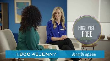 Jenny Craig Rapid Results TV Spot, 'Brittany, Jessica and Shiella: Join for Free' - Thumbnail 4