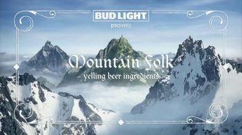 Bud Light TV Spot, 'Mountain Folk' - Thumbnail 1